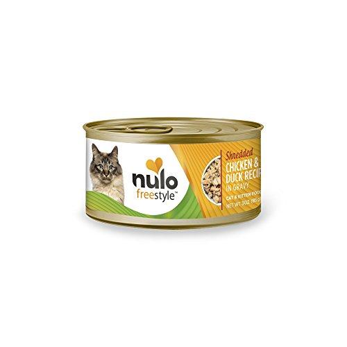 Nulo Adult & Kitten Grain Free Canned Wet Cat Food (Chicken & Duck Recipe, 3 Oz, Case Of 24)