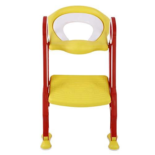 Reductor de inodoro para niños con escalera plegable, asiento para inodoro infantil,...