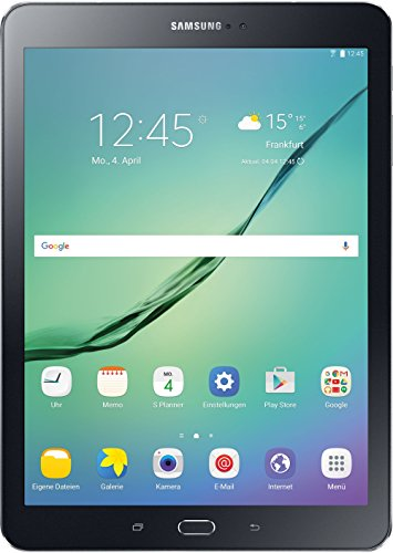 Samsung Galaxy Tab S2 T813 24,6 cm (9,7 Zoll) WiFi Tablet PC (2 Quad Core Prozessoren 1,8 GHz + 1,4GHz 3GB RAM Android) schwarz