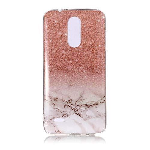 Yhuisen Handy-Taschen und Handy-Hüllen, LG K8 2018 Fall, Marmor Stein Muster weichen TPU zurück Shell Fall für LG K8 2018 (Farbe : 7)