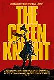 Poster: THE GREEN KNIGHT (Dev Patel, Sir Gawain) MOVIE