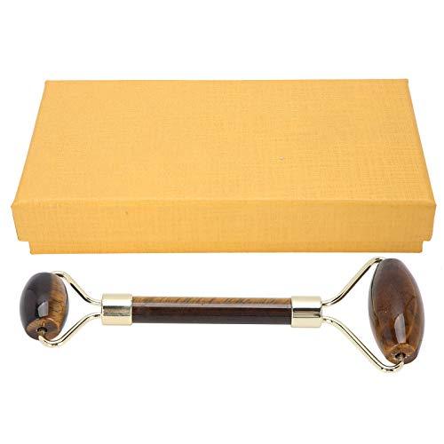 Herramienta de masaje de raspado Herramienta de raspado tradicional Tablero de placa de raspado para el cuerpo para aumentar la inmunidad para aliviar el dolor para promover(Yellow Tiger Eye)
