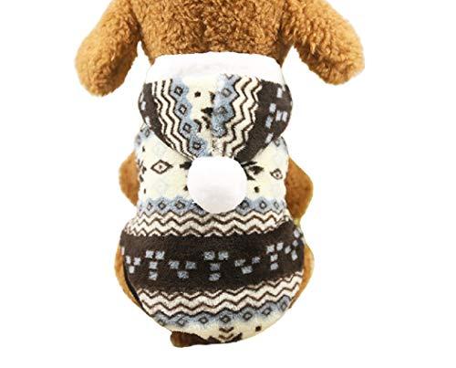 KayMayn Sport Dog Pet Puppy Hund Katze Shirt Coat Kleidung Hoodie Pullover Kostüme Big & Kleine Größe (S bis XXL), 2Farben