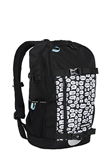 Chiemsee Bags Collection Schulrucksack, 47 cm, 1090 White/Black