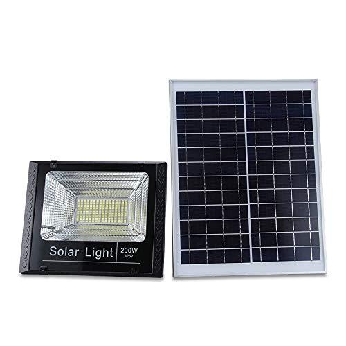 XMAGG Luces Solares LED Exterior, Floodlight Led Foco Proyector Led Foco Solar Exterior con Sensor de Movimiento Luces Solares Jardín Gran Ángulo Iluminación Lámpara Solar Impermeable,200W
