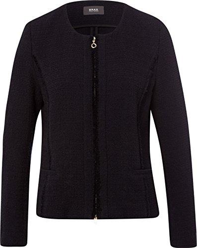 BRAX Damen Style Paris Jacke, Black, 38