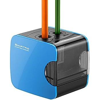 SMARTRO 電動鉛筆削り 色鉛筆用 鉛筆用 子供 学校 事務用