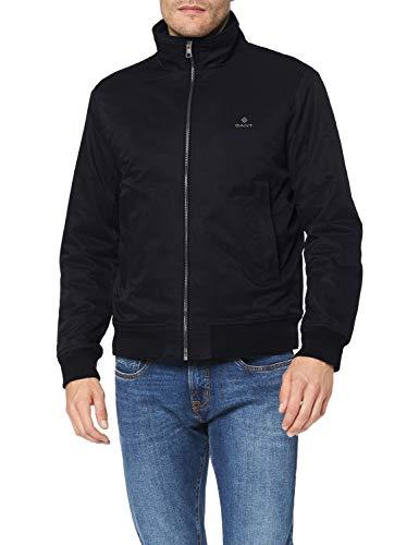 GANT D1. The Hampshire Jacket Chaqueta, Negro, L para Hombre
