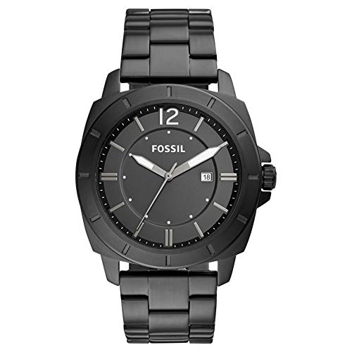 Fossil Mens Analogue Quartz Watch with Stainless Steel Strap 4053858979963
