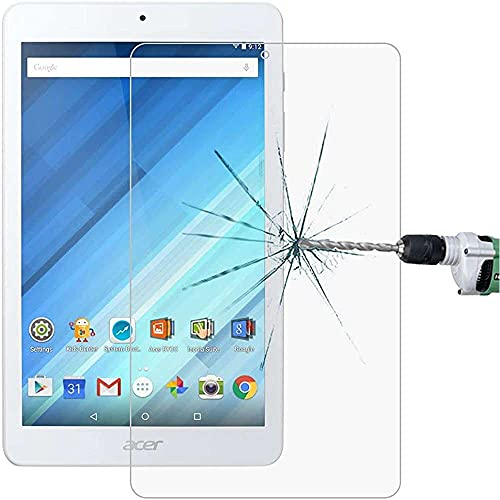 qiaohuan shop Boutique Accessories 0.3mm 9H Full Screen Tempered Glass Film for Acer Iconia One 8 B1-850