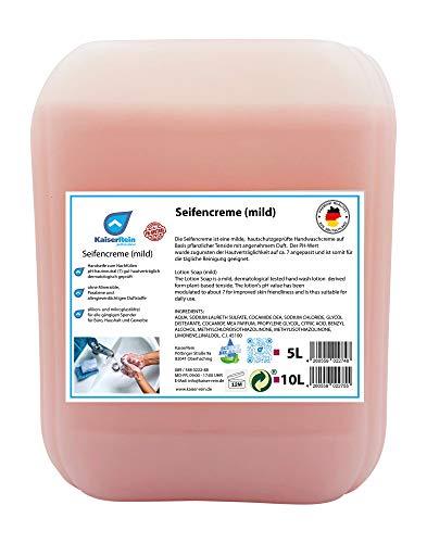 KaiserRein Seife Handseife flüssig 10 L Kanister Nachfüllbeutel, Nachfüllpack Seife für Spender Männer, Frauen, Hände