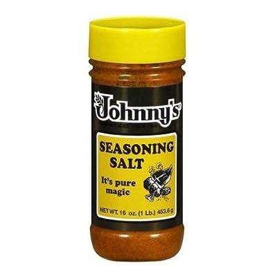 Johnny's, Seasoning Salt, 16oz Bottle (Individual)