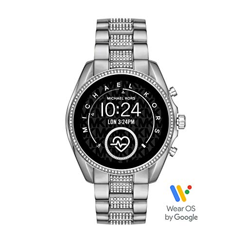 Michael Kors Bradshaw 2 Gen 4 Smartwatch Touchscreen - Powered with Wear OS by Google with Speaker, Heart Rate, GPS, NFC for Womens - MKT5088