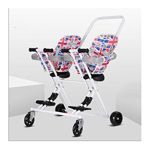 Find Discount ZWW Strollers Baby Stroller Child Folding Bikes for Twins Kids Walking Folding Scooter...