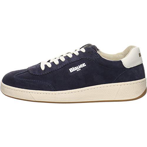 Blauer Damen Sneaker Olympia 02 blau Gr. 40