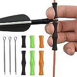 Cyleibe Bogenschießen Fingerschutz , Adsshopp Finger Guards Jagdbogen Saitenausrüstung Pfeil- und Bogenzubehör für Anfänger