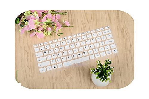 Teclado protector de teclado de silicona de 14 pulgadas para Lenovo Ideapad 310S 310 510 V310-14 Yoga 710 V310-14Ikb 310S-14-White