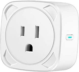 Blingdots Intelligent Plug, Smart WiFi Power Socket Plug Switch for Amazon Alexa/Google Home App Control