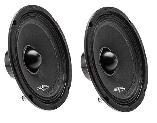 (2) Skar Audio NPX65-4 6.5  300 Watt 4-Ohm Neodymium Pro Audio Mid-Range Loudspeaker - 2 Speakers