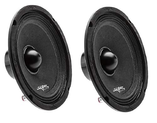 "(2) Skar Audio NPX65-4 6.5"" 300 Watt 4-Ohm Neodymium Pro Audio Mid-Range Loudspeaker - 2 Speakers"
