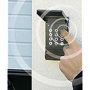 Schellenberg-60561-Garaje-Drive-Action-Radio-de-Codi-Interruptor-antracita