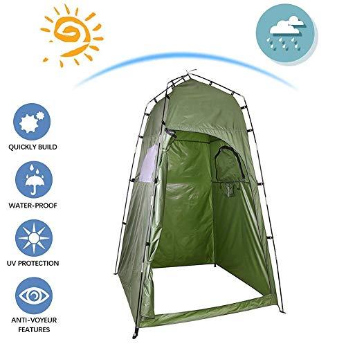 Tienda de campaña voloki Pop Up Privacy para camping, senderismo, pesca y playa, fácil instalación