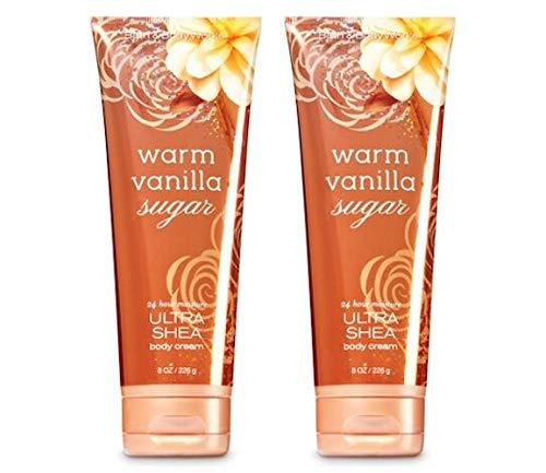 Bath & Body Works Ultra Shea Körpercreme 2er Pack - Warm Vanilla Sugar (2x226g)