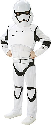 STAR WARS - THE FORCE AWAKENS ~ Stormtrooper (Deluxe) - Kids Costume 13 - 14 years by Rubies