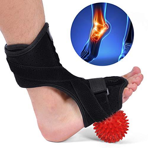 Raitron Orthopädische Fußstütze für Plantarfasziitis, mit hartem Massageball für effektive Linderung von Achillessehnenentzündungen
