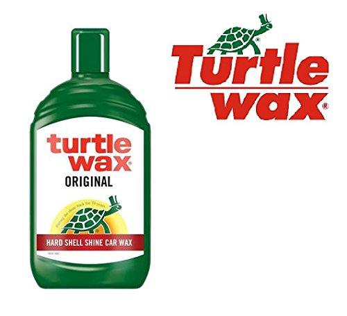 Turtle Wax FG7633 Autowax, 500 ml, vloeibare wax, lakbescherming, lakbescherming, lakwas, hoogglans, glanzend, harde shell shine autowax, voor duurzame lakglans en bescherming!