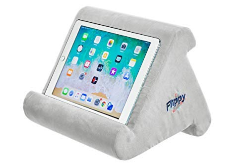 Flippy Multi-Angle Soft Pillow Lap Stand for iPads, Tablets, eReaders, Smartphones, Books, &...