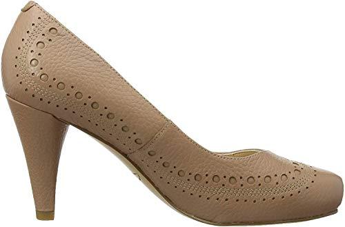 Clarks Zapatos de Tacónpara mujer, Hueso