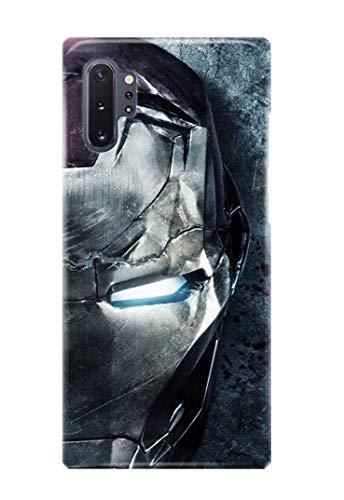Hülle Me Up Handy Hülle für Samsung Galaxy Note 10+ [Plus] Iron Man Tony Stark Superhero Marvel Comics 14 Designs