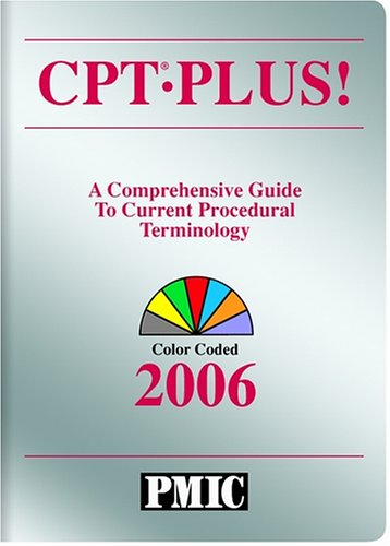 Cpt Plus! 2006: A Comprehensive Guide to Current Procedural Terminology, Color Coded (Current Procedural Terminology (CPT) Plus)