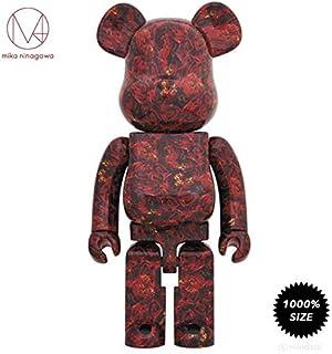 43aab3a8 Medicom Leather Rose 1000% Bearbrick by Mika Ninagawa x Toy