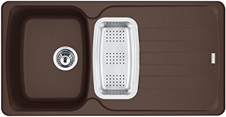 Franke Antea AZG 651 Chocolate - 114.0477.964 Granitspüle Exzenterbettigung