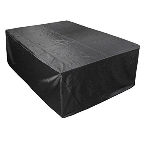 Flyelf Gartenmöbel Abdeckung,Wasserdicht Schutzhülle für Gartentisch 242x162x100cm