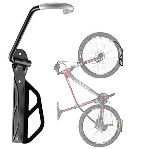 WYJW Gancho para Colgar Bicicletas de Montaje en Pared con Almacenamiento de portabicicletas para cobertizo de Garaje Interior, con Bandeja para neumáticos