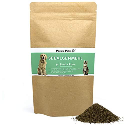 Paws & Patch reines SEEALGENMEHL für Hunde & Katzen, 100% natürlich, idealer Barf- oder Futterzusatz, Ascophyllum nodosum, 400 g