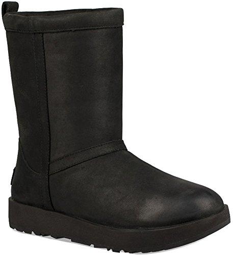 UGG Classic Short Leather Waterproof Stiefel Damen