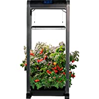 AeroGarden Farm 12 XL Easy Setup Healthy Eating Garden Kit (Black)