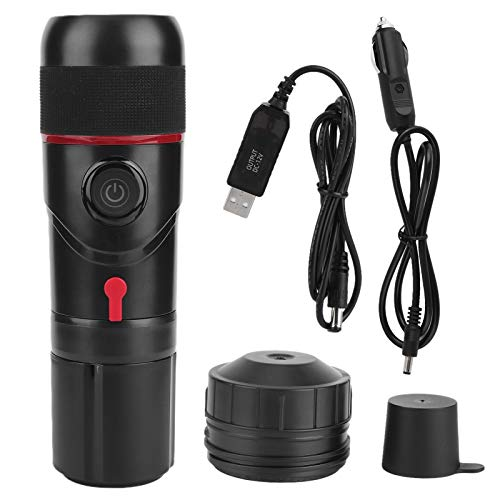 Máquina de café expreso multifunción portátil 3 en 1 con USB, cafetera de viaje, máquina de café expreso eléctrica con...