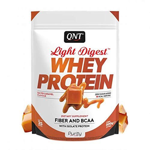 Qnt Light Digest Whey Protein Salted Caramel, 500 g