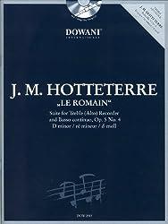 Suite in d-moll op. 5 nr. 4 flute a bec +cd