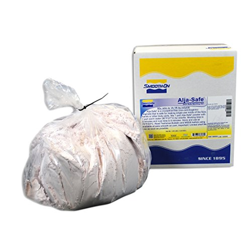 Alja-Safe Lifecasting Alginate 3-lb Box - Plaster Casting Kit