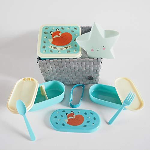 MINIMOI | Canastilla Regalo Bebé Recién Nacido | Estilo: Cool | Color: Gris