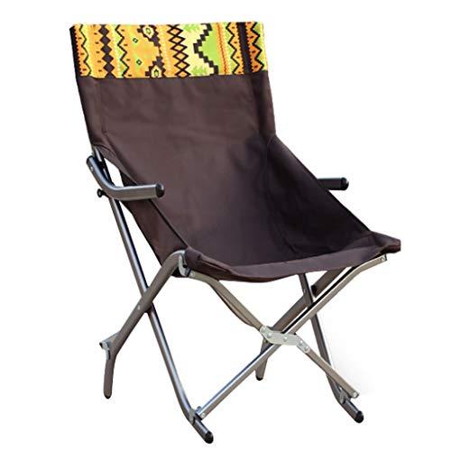 OAVVC Chaise Pliante en Aluminium Ultra-léger en Plein Air, Chaise De Repos Portable Inclinable De Ménage