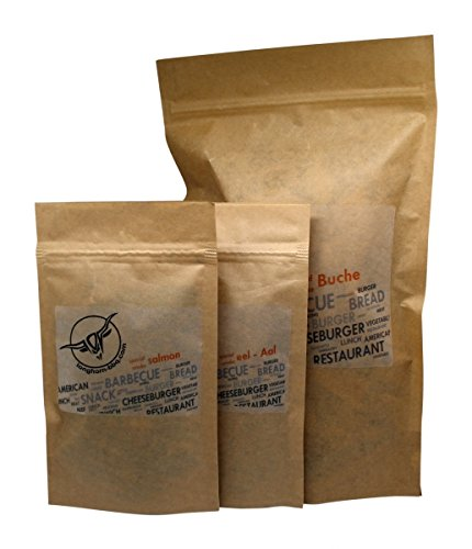 Preisvergleich Produktbild Longhorn BBQ Smoking Chips Set / Buche & Fisch