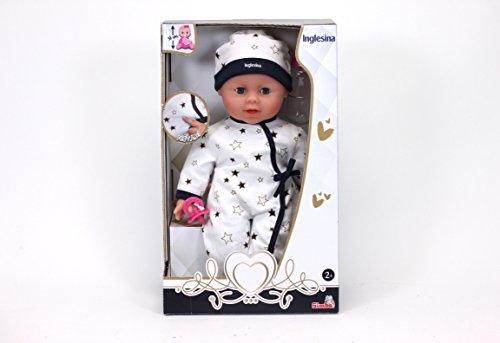 Simba- Inglesina Bebè cm 38 con funzioni, 105140142