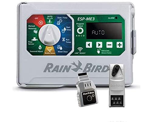 Rain-Bird Controller Indoor Outdoor Lawn Irrigation Sprinkler Timer ESPME3 (+ WiFi + 1 Module)